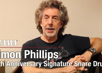 Simon Phillips Signature Snare Drum 40th Anniversary Model - Limited Product-
