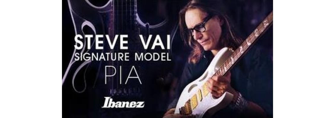 Steve Vai Signature Model IBANEZ PIA3761