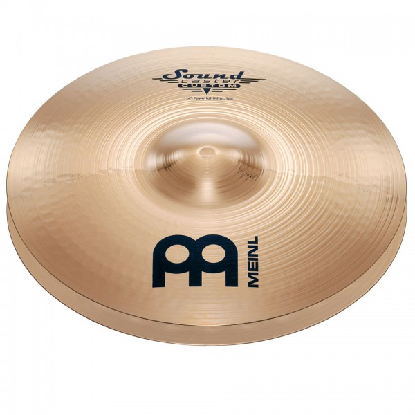 "cymbals meinl soundcaster custom powerful 14"" hihat"
