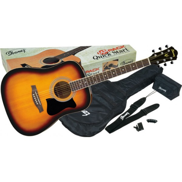 acoustic guitars ibanez v50njp-vs