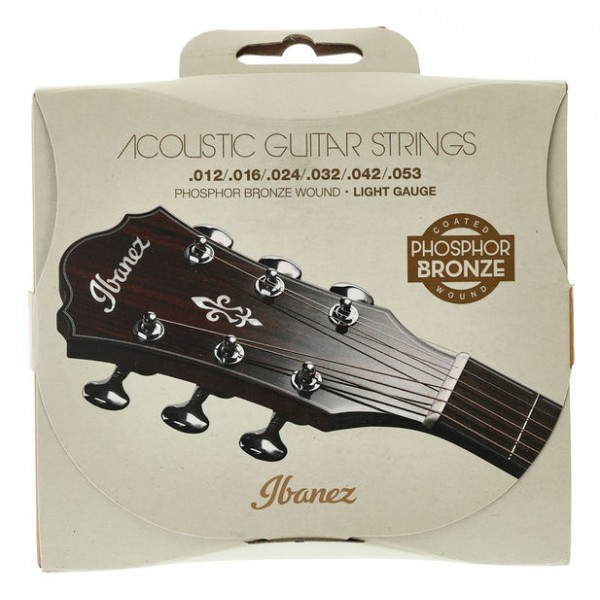 "IBANEZ IACSP6C Strings for Acoustic Guitar Music House ""Trimis"""