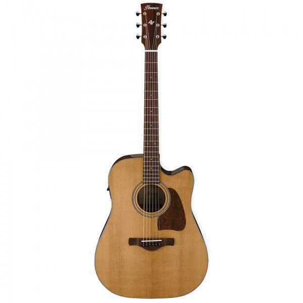 acoustic electric guitars ibanez avd9ce-nt
