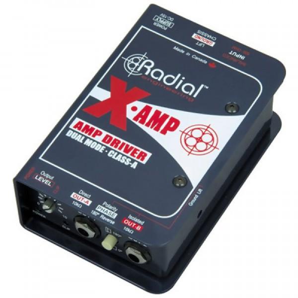 "RADIAL X-AMP D.I BOX Μουσικός Οίκος ""Τρίμη"""