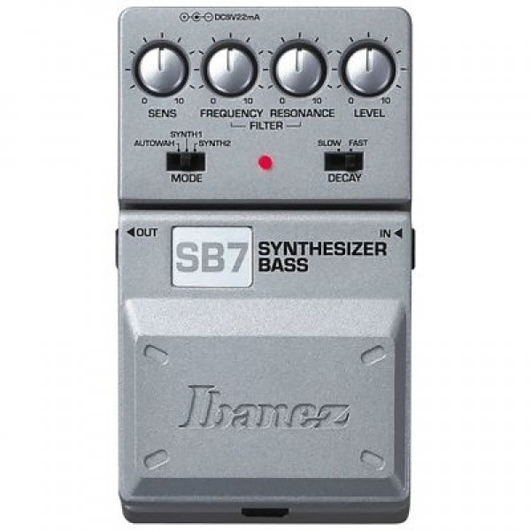 effect pedals for bass ibanez